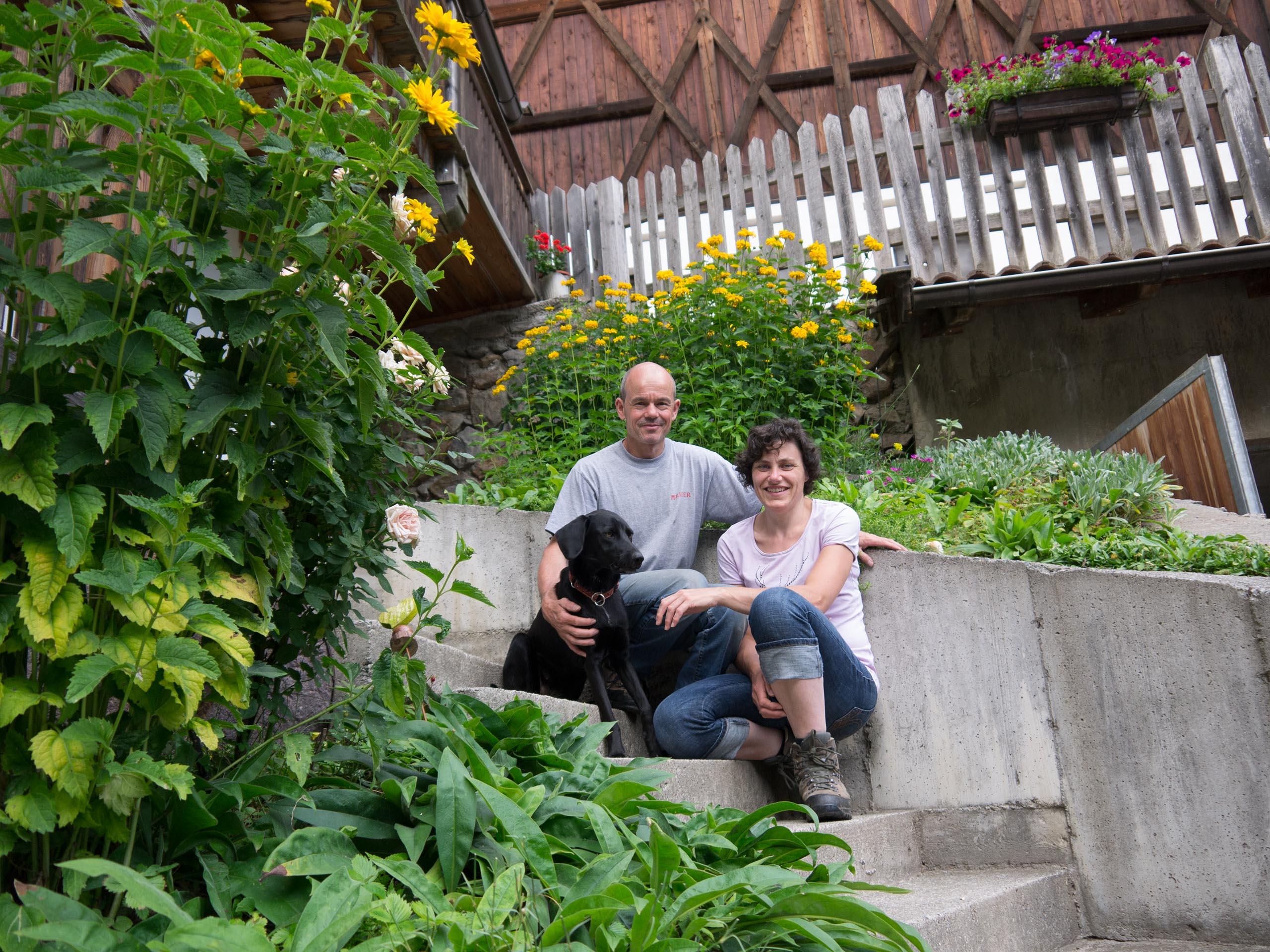 Walter & Helene + Luna
